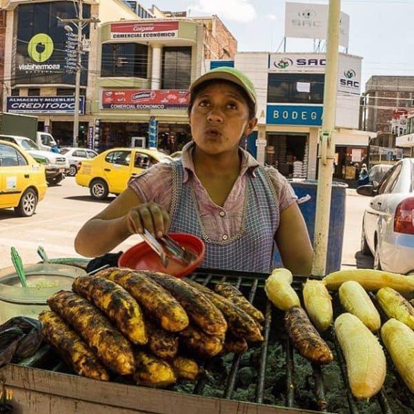 Maduros con queso in Cuenca Ecuador  plantains with cheesehellip