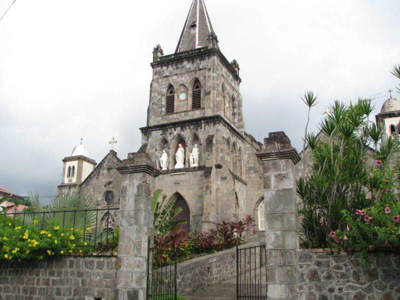 Roseau Catholic church (2)