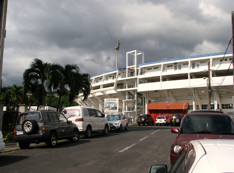 Windsor Park Sports Stadium, through a grant made by the People's Republic of China to the Government of Dominica