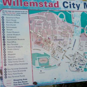 Willemstad map