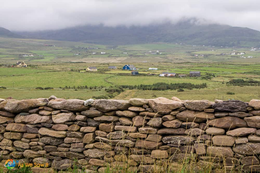 Scenic view Dingle Peninsula Slea Head Drive Ireland