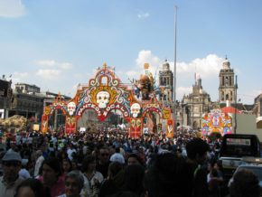 Mexico City's Day of the Dead 2010