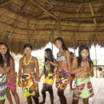 Self-conscious Embera girls