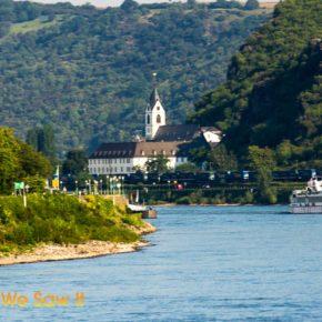 Cruise ship on the Rhine River