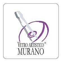 Official logo of genuine murano glass, Text says Vegtro Artistico oMurano