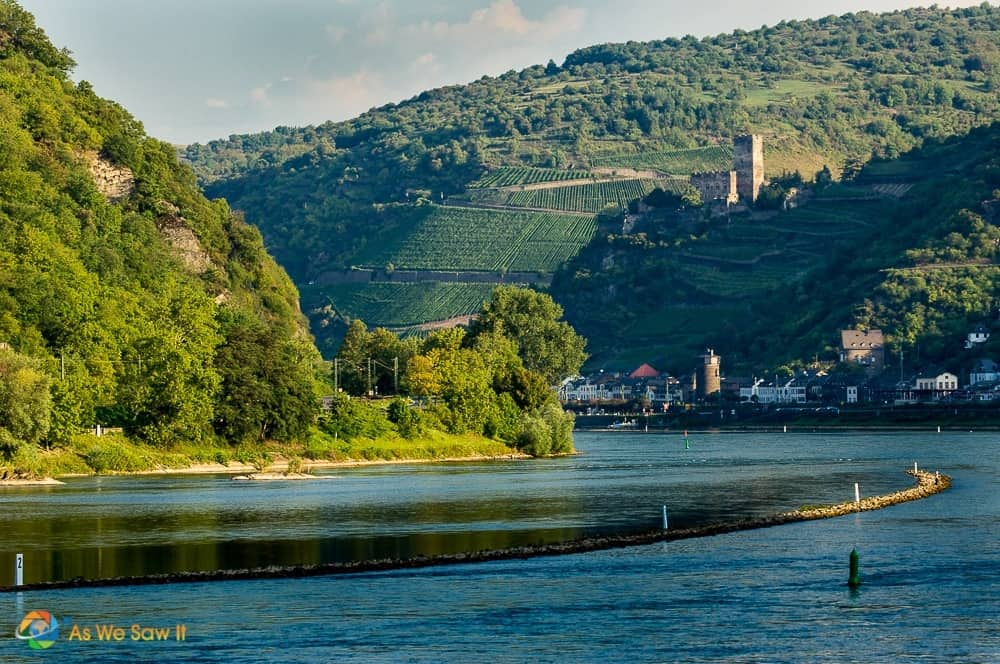 The Rhine Gorge, middle rhine valley castles