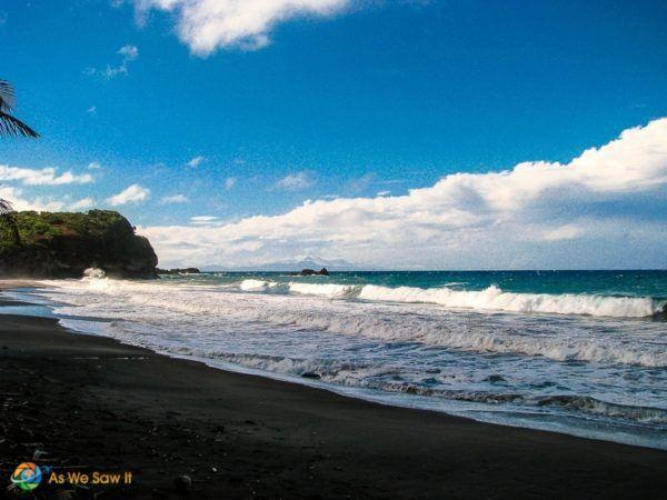 Pirates of the Caribbean black Sand Beach location