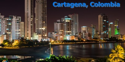 The Colorful UNESCO city of Cartagena, Colombia