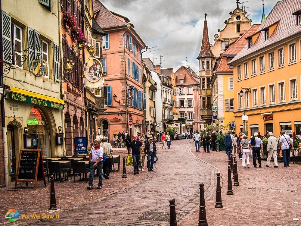 The prettiest town in alsace Colmar beauty and the beast