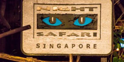 sign for the Night Safari