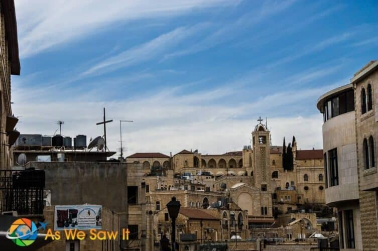 City view of Bethlehem Israel Palestinian Territory