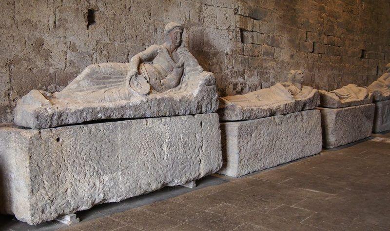 Reclining Etruscan