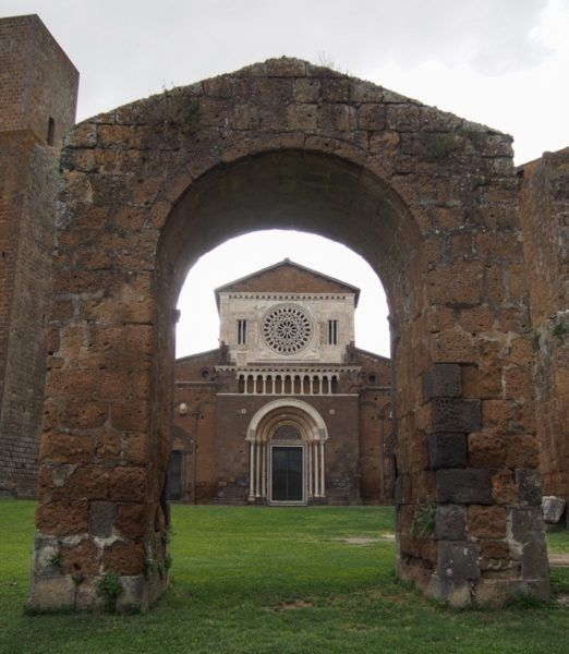 St Peters Church Tuscania