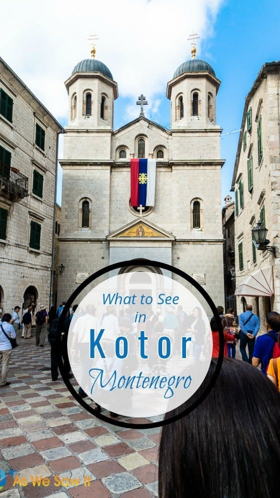Hidden from the wide, blue Adriatic by towering limestone cliffs, Kotor Montenegro is a treat for the eyes, and the best way to approach it is through the beautiful Bay of Kotor. Discover the best things to do in and around Kotor, including old town, the bay and nearby towns. #Montenegro #Kotor #travel #EasternEurope #Europe #UNESCO #itineraries
