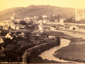 Clifden Ireland as seen in the 1800s