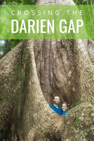 couple inside a prime forest ficus text says crossing the darien gap