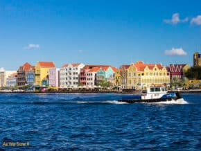 waterfront, Willemstad, Curacao, Netherland Antilles
