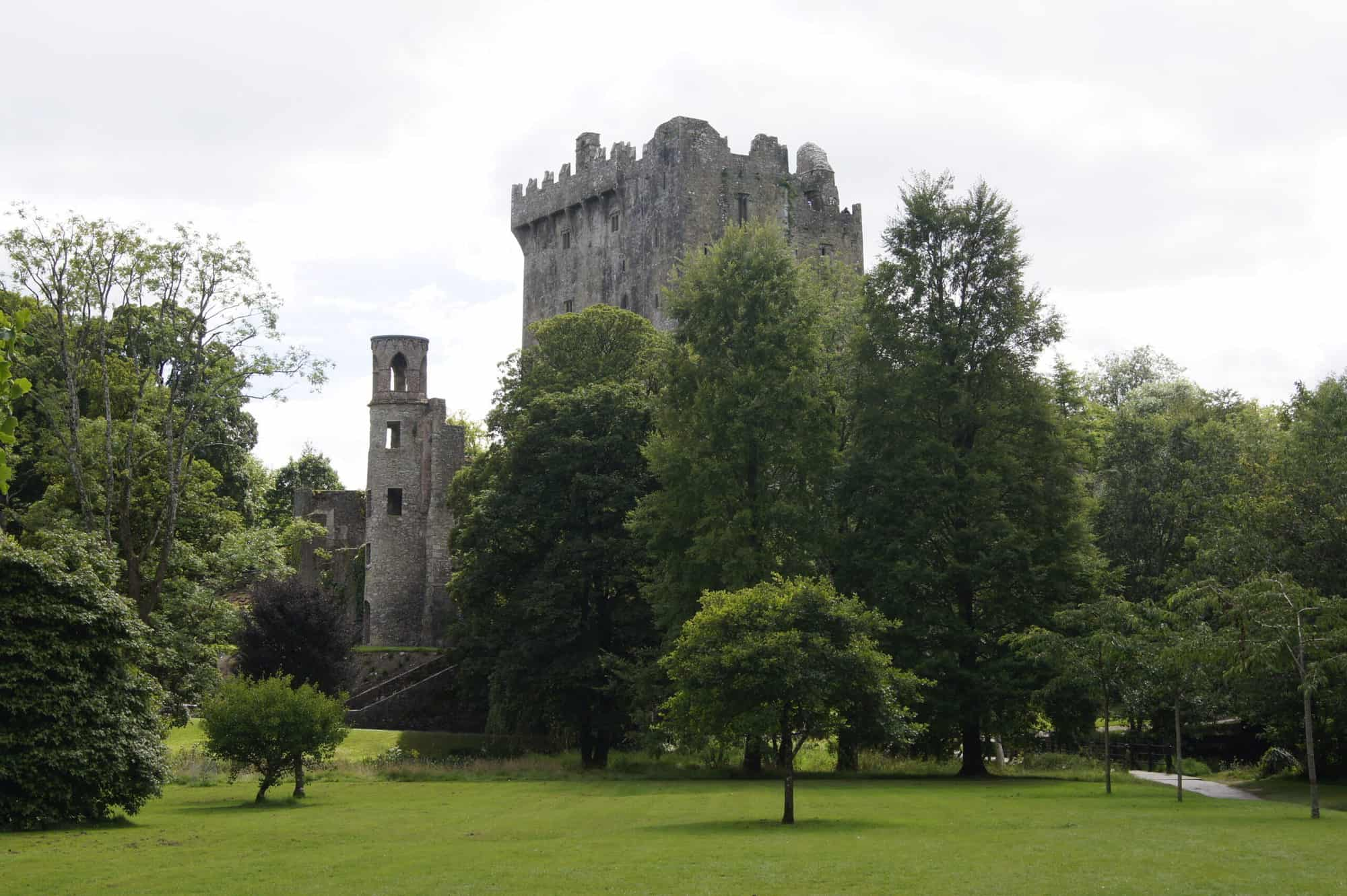 day in Blarney, castle and grounds