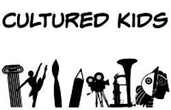 Cultured kids logo for travel blog linkup