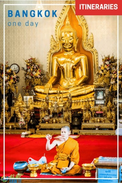 If you only have one day in Bangkok and want to see its highlights, here are some ideas to get your started.
