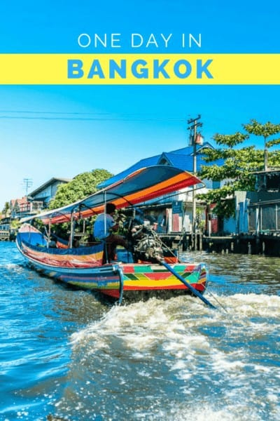 If you only have one day in Bangkok and want to fit in the city's must-visit highlights, here are some ideas to get your started.