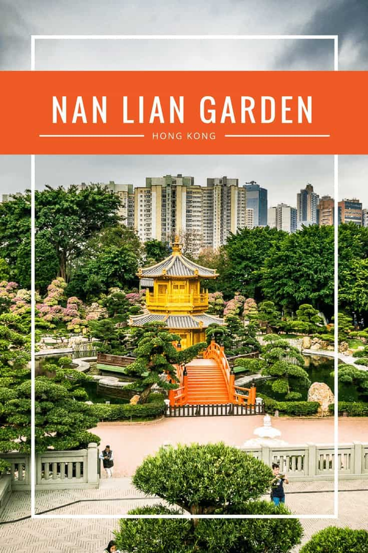 There is a peaceful Tang-style oasis of green in the center of Hong Kong: Chi Lin Nunnery at Nan Lian Garden.