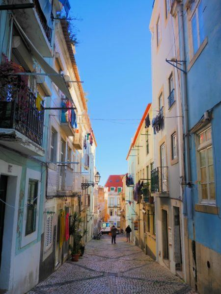 Madragoa neighborhood in Lisbon