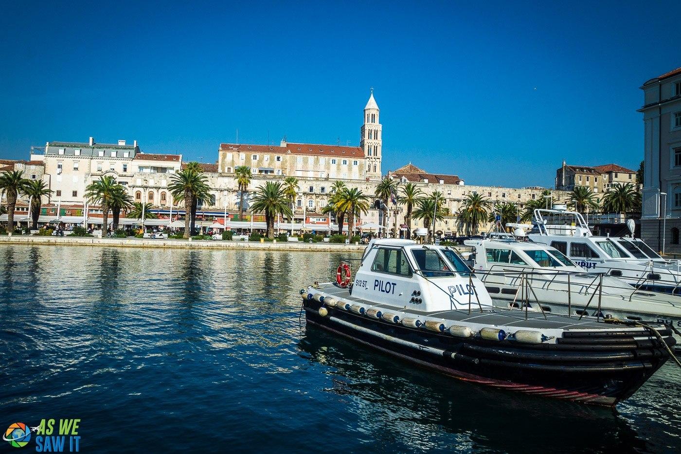 One day in Split Croatia