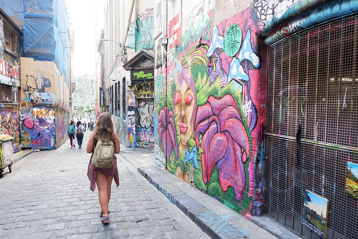 Laneway in Melbourne Australia