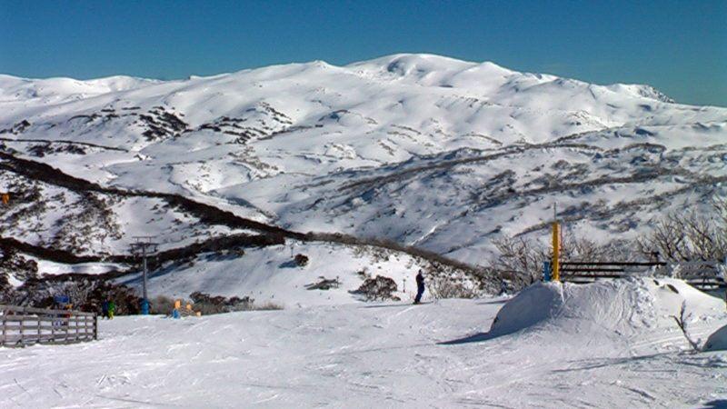 Perisher ski resort Australia