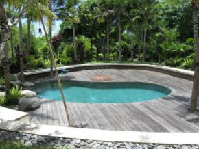 House Sitting swimming pool