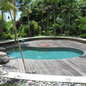 House Sitting swimming pool