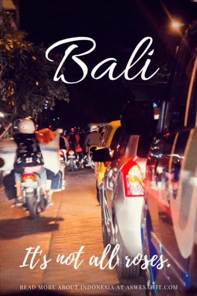For an expat, Bali is full of surprises.