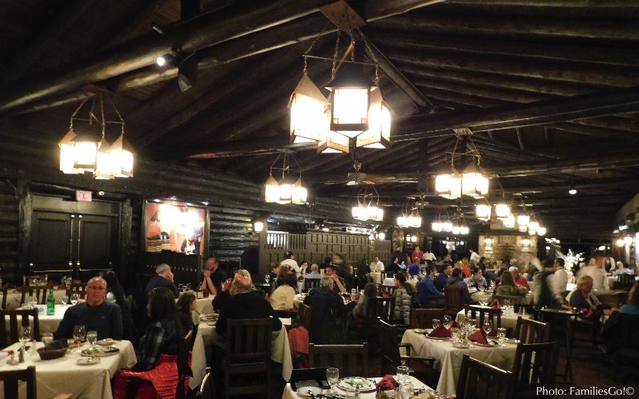 Grand Canyon El Tovar dining room