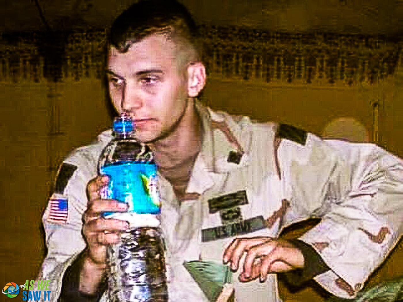 Jimmy serving in Iraq
