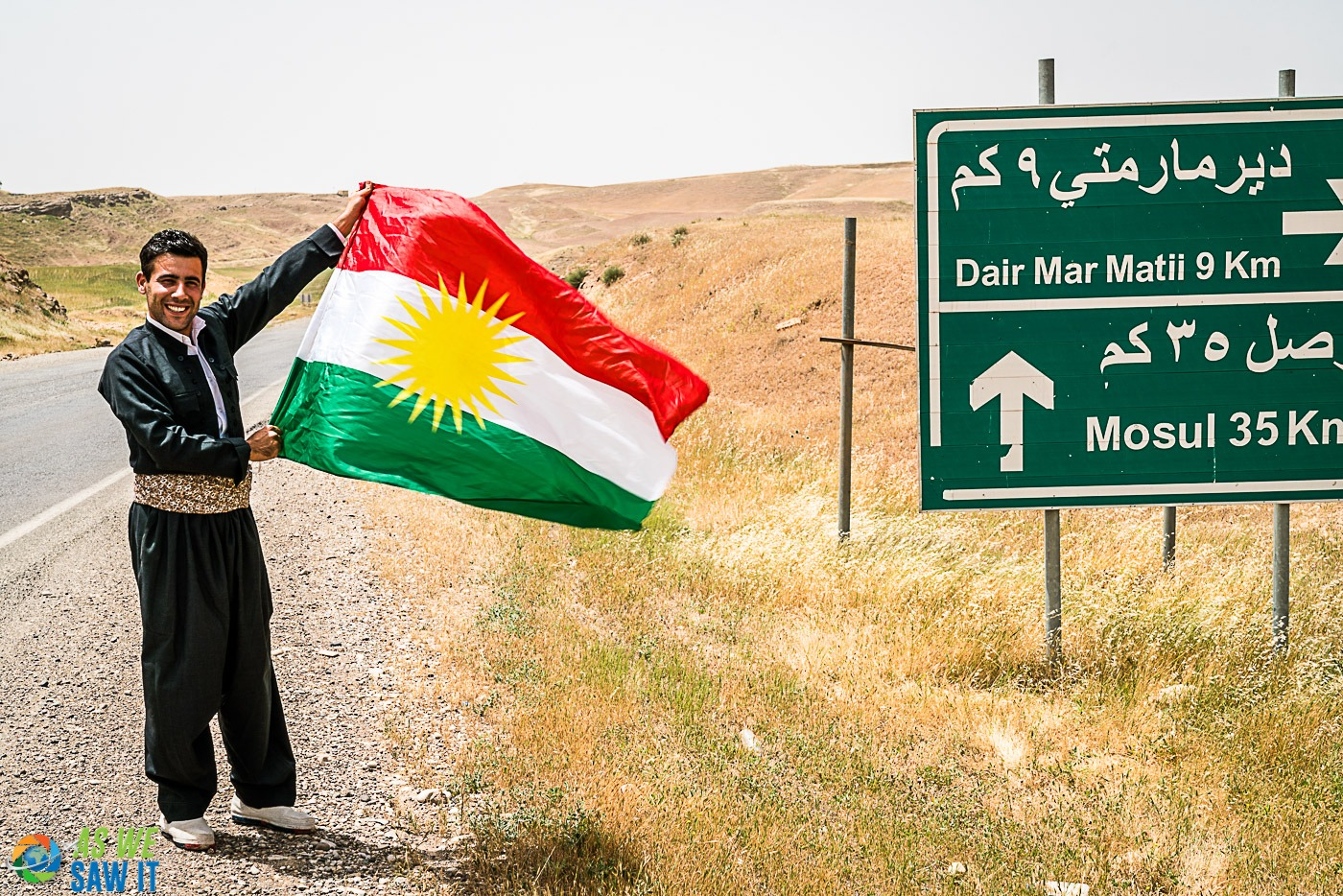 On the road to Mosul with Karwan of KurdistanTours.net