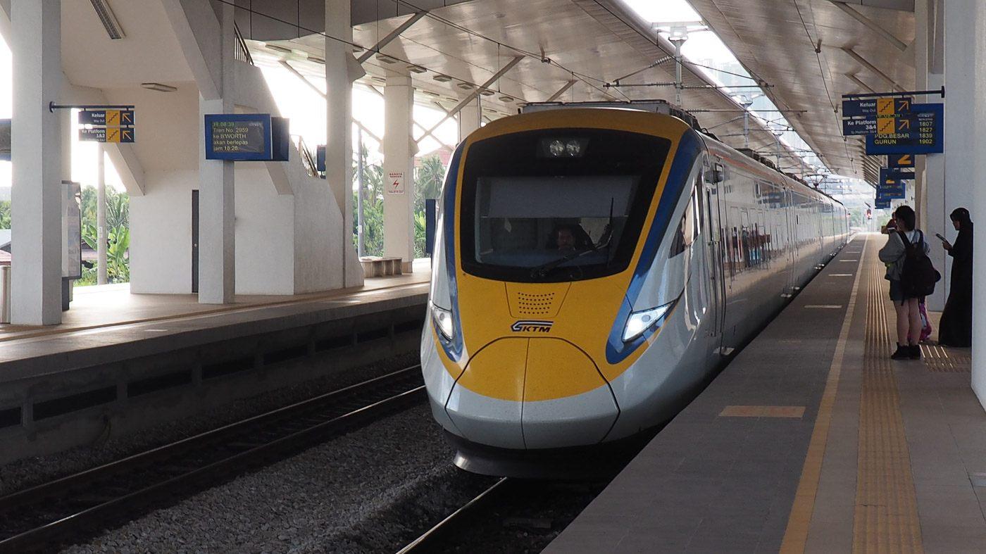 Inter-city Train in Malaysia