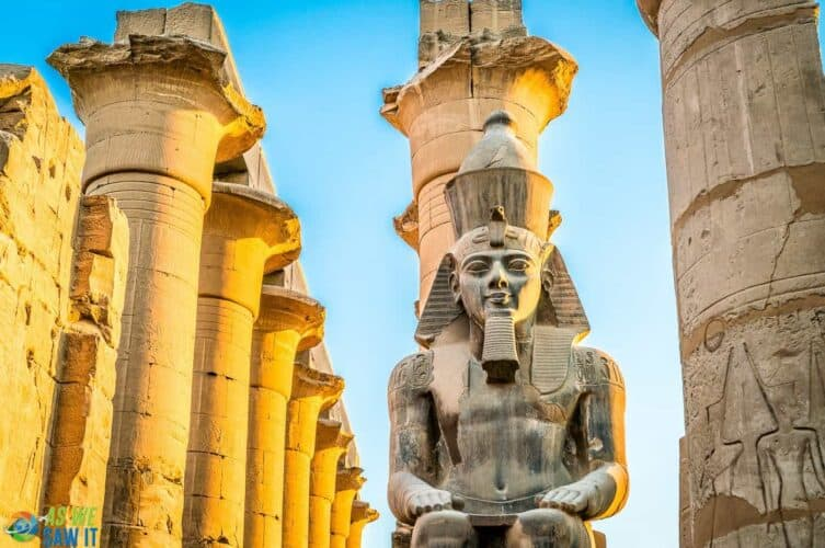 Ramses at Luxor Temple