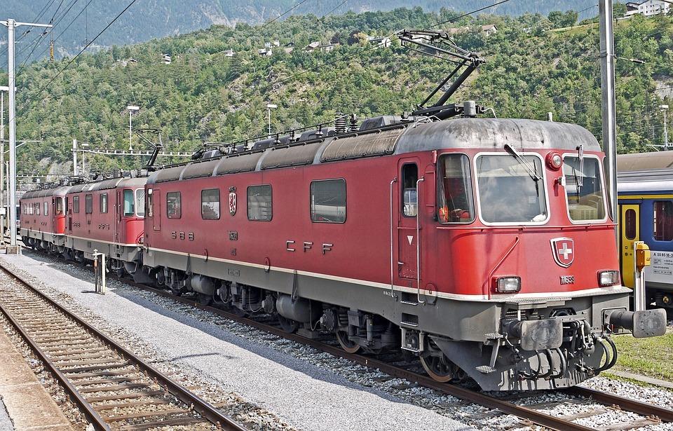 Swiss Rail train