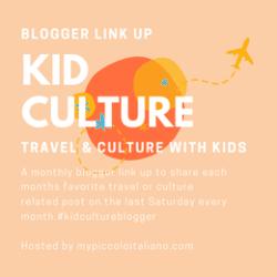 kid culture logo for travel blog linkup
