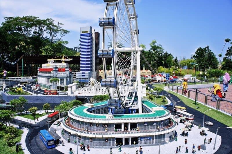 Ferris wheel at Legoland Johor Baru