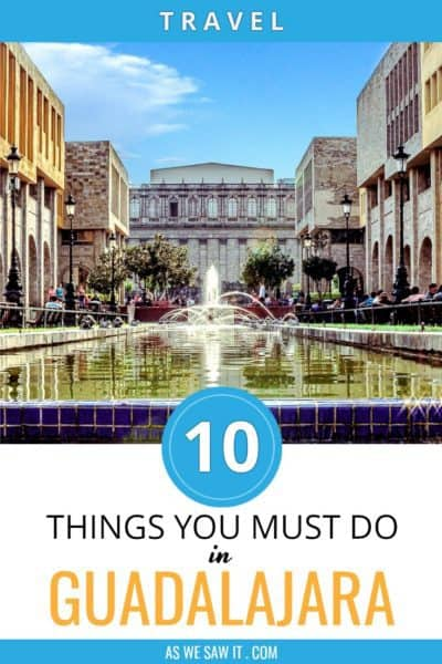 Guadalajara fountain with overlay 10 things you must do in Guadalajara Meico