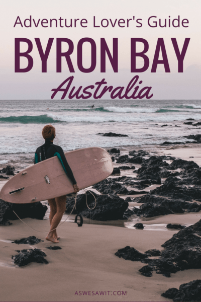 Byron Bay, NSW is one of the best things to do in Australia. Here's an essential bucket list of activities - places to see and fun things to do in and around Byron Bay. #byronbay #australia #adventure #thingstodo #places