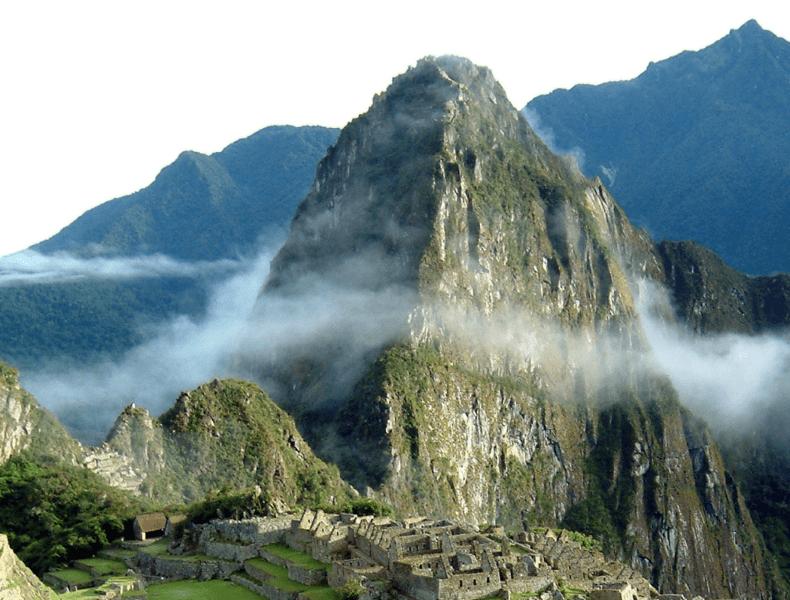 Huayna Picchu, the rocky mountain at Machu Picchu