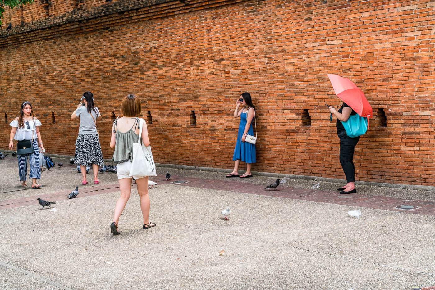 chiang mai city wall