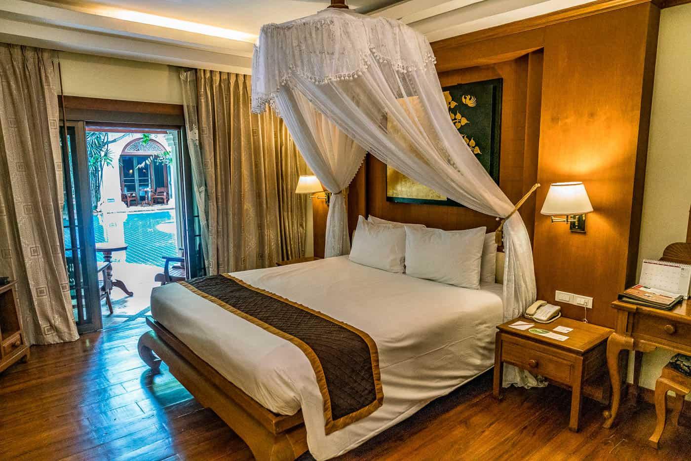 Centara Khum Phaya Resort and Spa Chiang Mai comfy bed