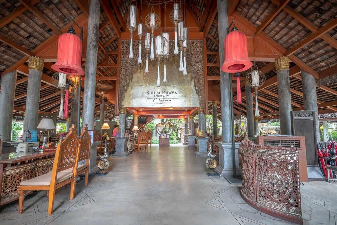 centara khum phaya resort and spa chiang mai lobby