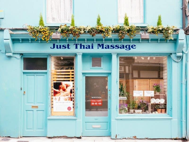 Thai massage shop