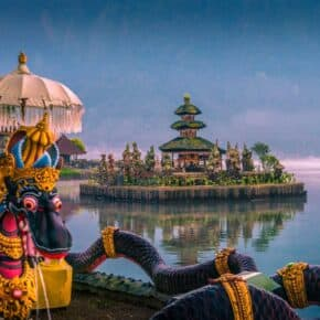 the 9 directional temples of bali and pura ulun danu beratan
