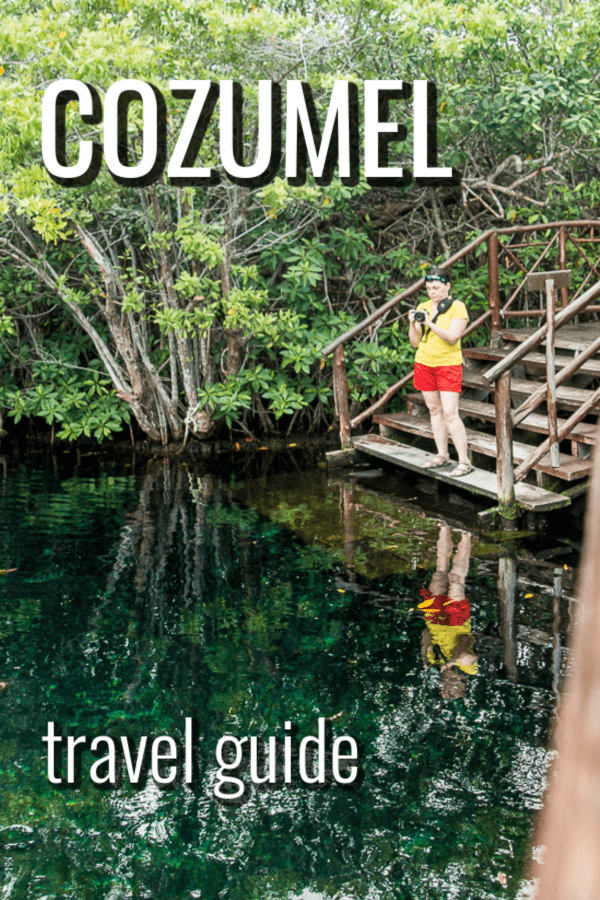 Travel guide to Cozumel including cenotes, diving, and other things to do
